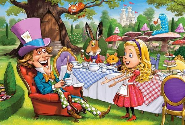 Grote foto alice in wonderland castorland b 040292 1 kinderen en baby puzzels