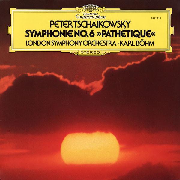 Grote foto peter tschaikowsky karl bohm the london symphony orchestra muziek en instrumenten platen elpees singles