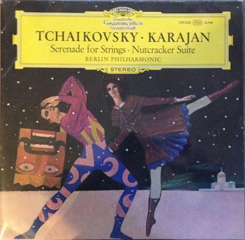 Grote foto tchaikovsky karajan berlin philharmonic serenade for st muziek en instrumenten platen elpees singles