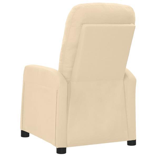Grote foto vidaxl massagestoel verstelbaar stof cr mekleurig beauty en gezondheid massage