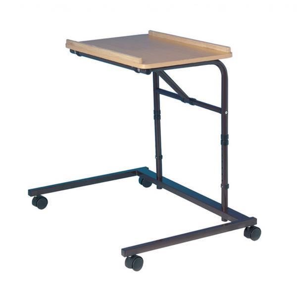 Grote foto stoelleestafel met kantelbaar blad diversen verpleegmiddelen en hulpmiddelen