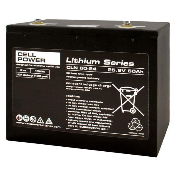 Grote foto cellpower cln 60 24 lithium scootmobiel accu diversen brommobielen en scootmobielen