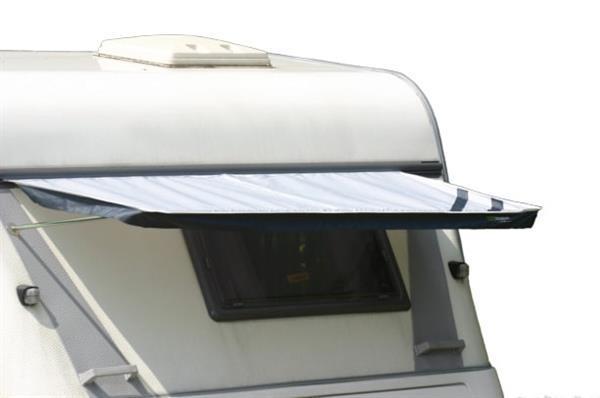 Grote foto raamluifel caravan 190 x 90 cm polyester grijs caravans en kamperen overige caravans en kamperen