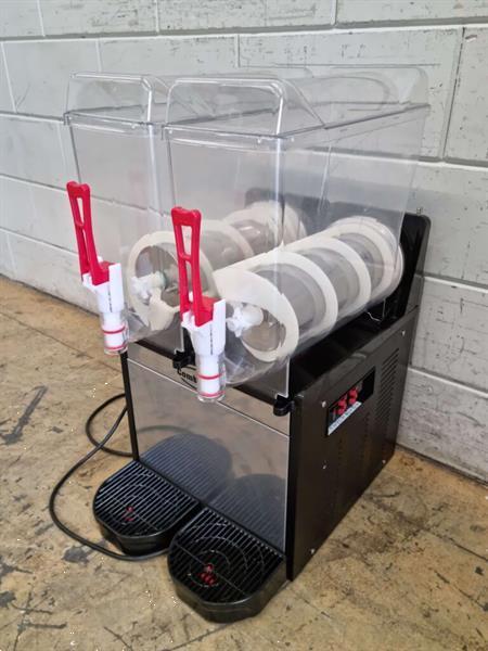 Grote foto combisteel slushmachine granita machine 2 x 12 liter 230v ho diversen overige diversen