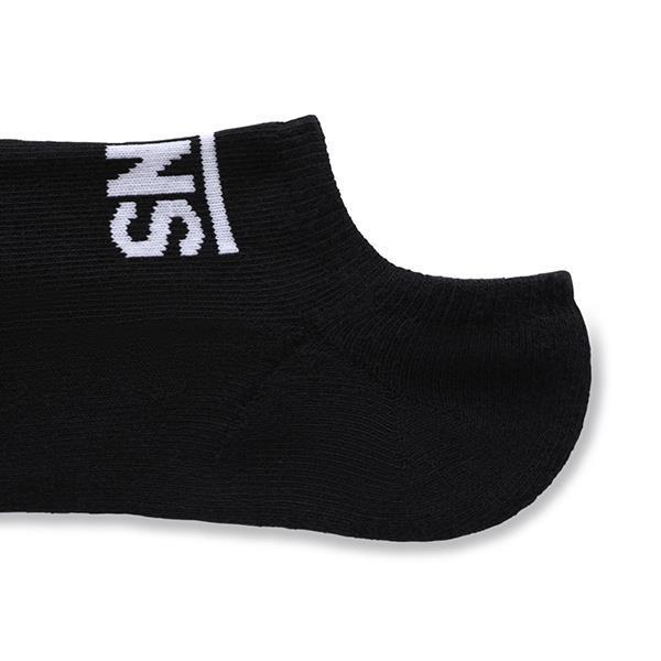 Grote foto vans classic ankle socks zwart sokmaten eu 42.5 47 kleding heren ondergoed