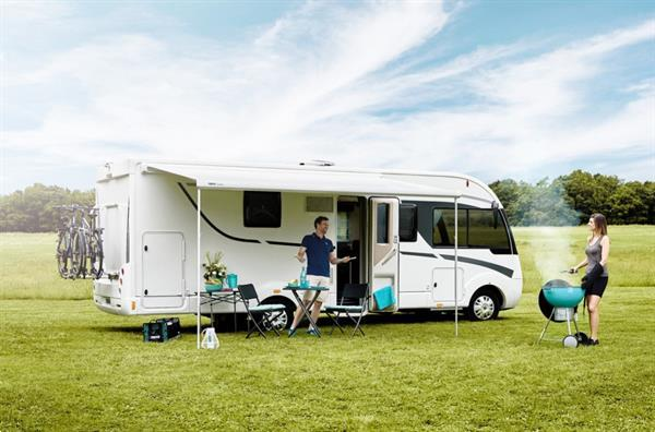 Grote foto thule 5200 190 geanodiseerd mystic grey caravans en kamperen caravan accessoires