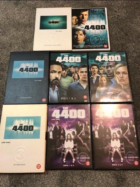 Grote foto dvd 4400 3 dvd boxen cd en dvd science fiction en fantasy