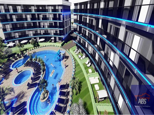Grote foto nieuw project in alanya oba turkije huizen en kamers appartementen en flats