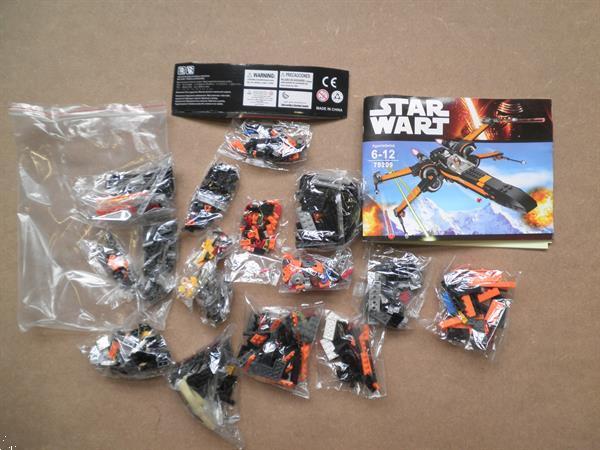 Grote foto lepin star wars x wing fighter 05004 lego kinderen en baby duplo en lego