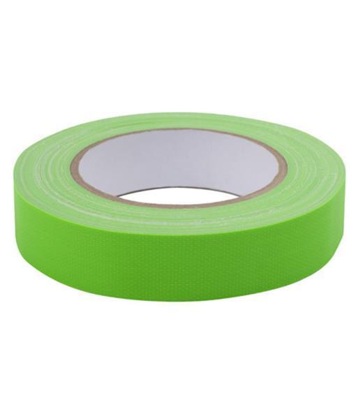 Grote foto td47 gaffa tape fluor deal 4 rollen 25mm doe het zelf en verbouw gereedschappen en machines