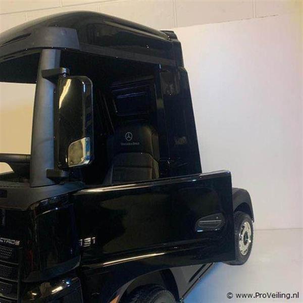 Grote foto online veiling elektrische mercedes kindervrachtwagen kinderen en baby los speelgoed