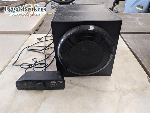 Grote foto logitech z906 luidspreker muziek en instrumenten speakers