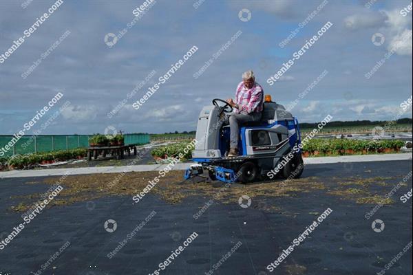 Grote foto stefix 73 en 135 veegmachine te koop voor o.a. worteldoek agrarisch veegmachines
