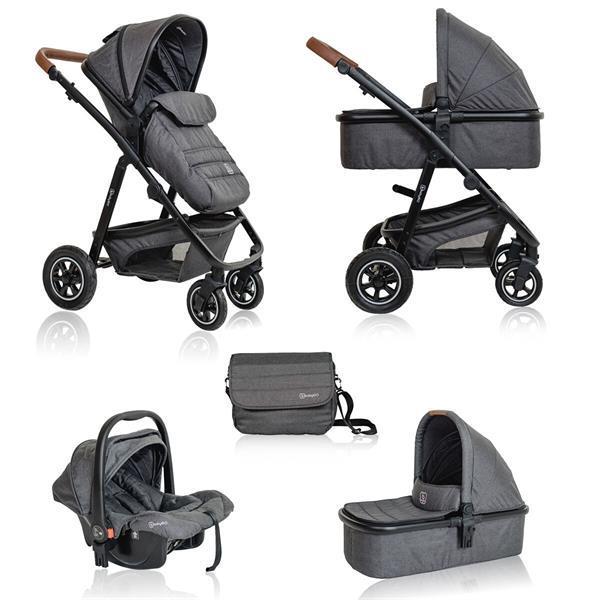 Grote foto babygo simplex air combi kinderwagen incl. autostoel kinderen en baby kinderwagens