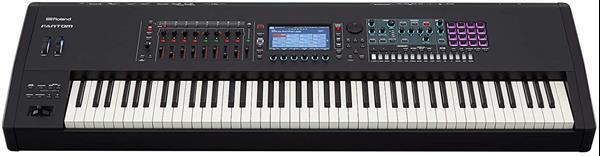 Grote foto roland fantom 8 88 note workstation keyboard muziek en instrumenten keyboards