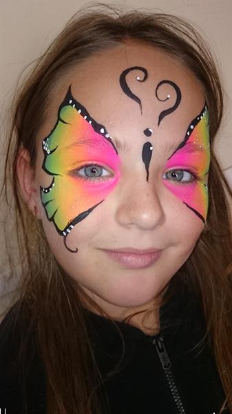 Grote foto schminken op uw kinderfeestje diensten en vakmensen feesten