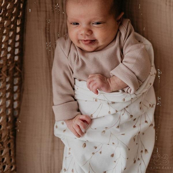 Grote foto inbakerdoek zak fresh twigs yumi baby kinderen en baby complete kinderkamers
