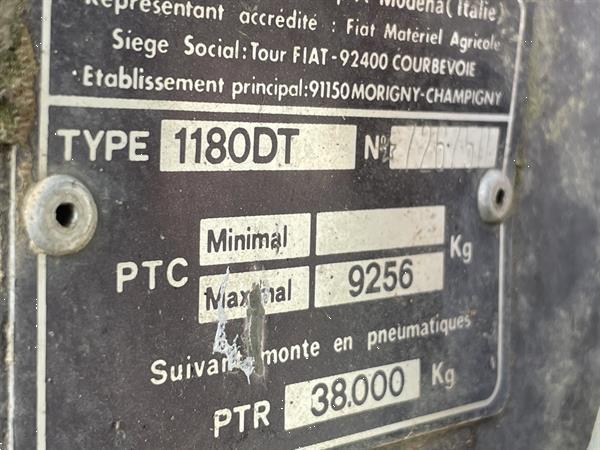 Grote foto fiat 1180 dt agrarisch tractoren