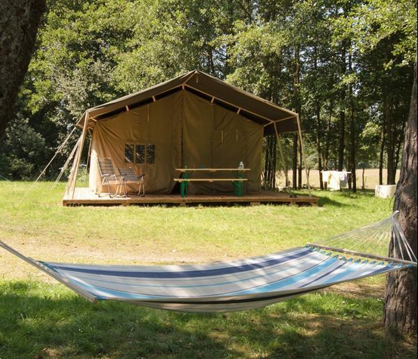 Grote foto luxe safaritent frankrijk op kleine campings vakantie campings