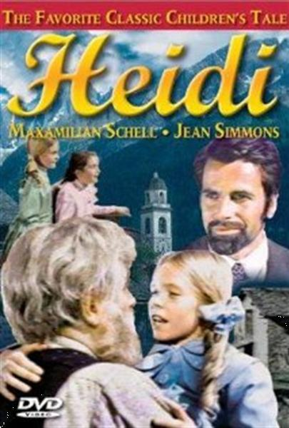 Grote foto heidi dvd audio tv en foto dvd films