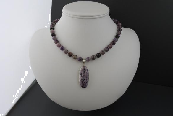Grote foto charoiet ketting oorhanger set sieraden tassen en uiterlijk kettingen