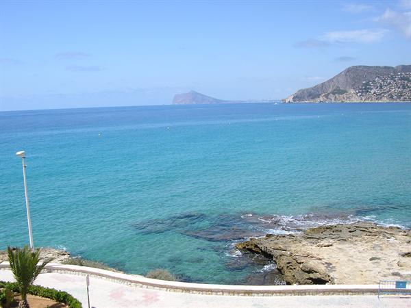 Grote foto spanje calpe appartement aan zee en strand 4p vakantie spanje