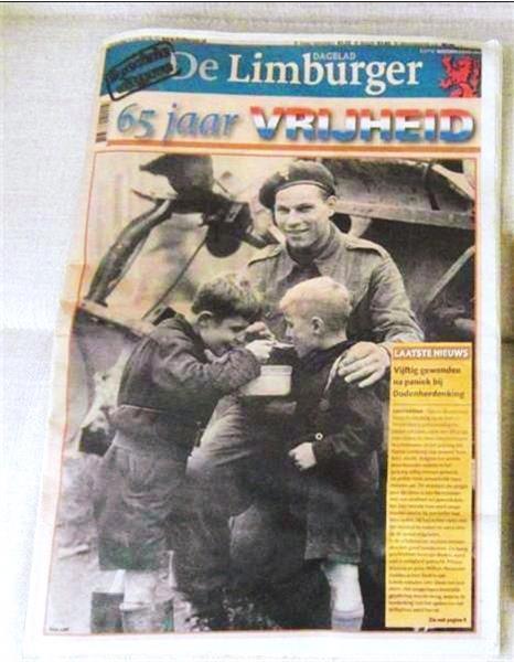 Grote foto 65 jaar vrijheid speciale uitgave dagbl d limb boeken geschiedenis regio