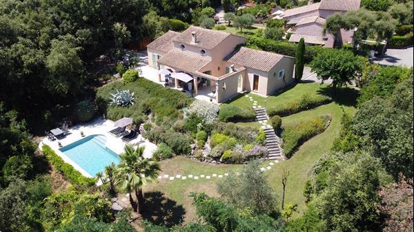 Grote foto villa valbonne 12 km cannes vakantie frankrijk