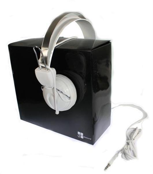Grote foto hoofdtelefoon voor mp3 gsm muziek en instrumenten audio professioneel