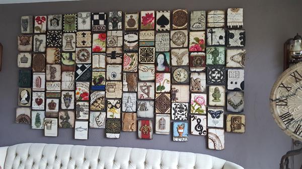Grote foto disenyo di sen yo walltiles bij artivos huis en inrichting onderdelen en accessoires