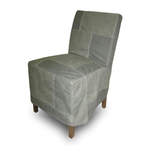 Grote foto eetkamerstoel met vintage stoffen hoezen huis en inrichting stoelen