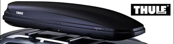 Grote foto thule pacific ruime dakkoffer 3 50 dragers 1 dag auto onderdelen dakdragers en skiboxen