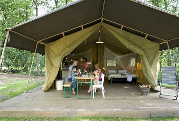 Grote foto luxe tent op kleine campings in itali vakantie italie