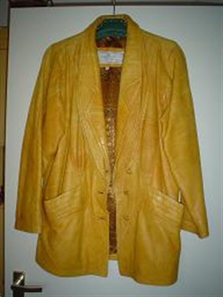 Grote foto italians leren jas kleding dames lederen kleding
