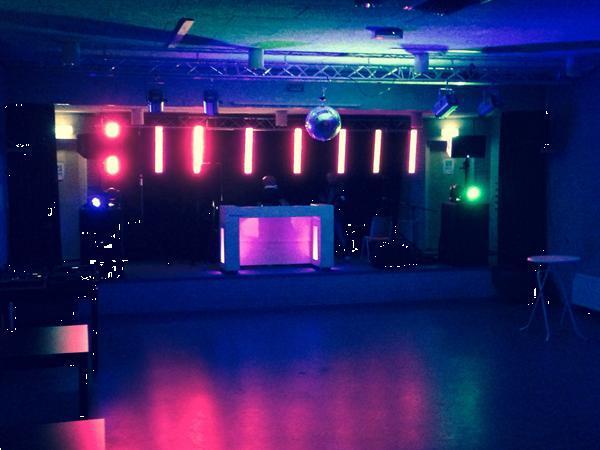 Grote foto verhuur licht geluid en podium muziek en instrumenten boekingen
