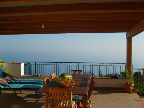 Grote foto sicili cefalu vakantiewoning uitzicht op zee vakantie italie
