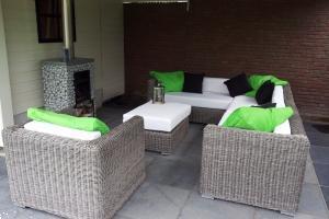 Grote foto loungeset arbrini riet grijs nu slechts 1599 tuin en terras tuinmeubelen