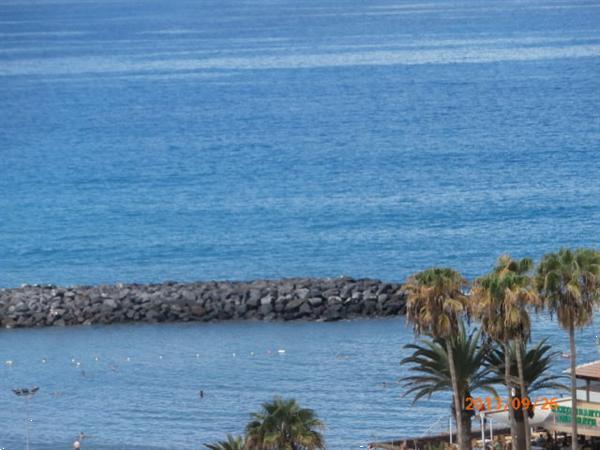 Grote foto tenerife heerlijk app.in las americas aan strand vakantie spanje