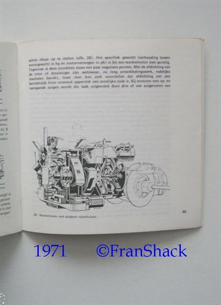 Grote foto 1971 de moderne automotor labots vam boeken auto boeken
