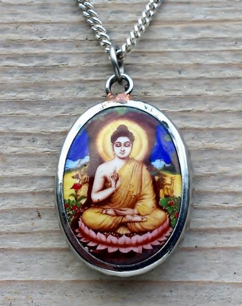 Grote foto boeddha sieraden buddha ketting hangers sieraden tassen en uiterlijk bedels en hangers