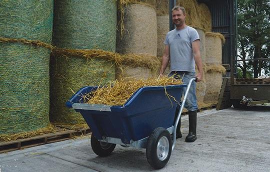 Grote foto nieuw kiepbare kruiwagen 255 liter doe het zelf en verbouw gereedschappen en machines