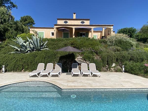 Grote foto villa valbonne 12 km cannes 6 pers prive zwembad vakantie frankrijk